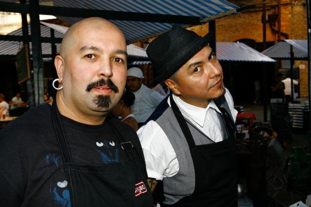 Alecs Qintaro, Checo Gonzales
