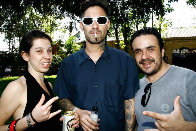 Daniela Martins, Manuel Barrios, Gustavo Souza