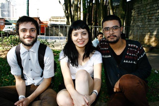Felipe Prado, Mayra Lisboa, Anderson Salvador